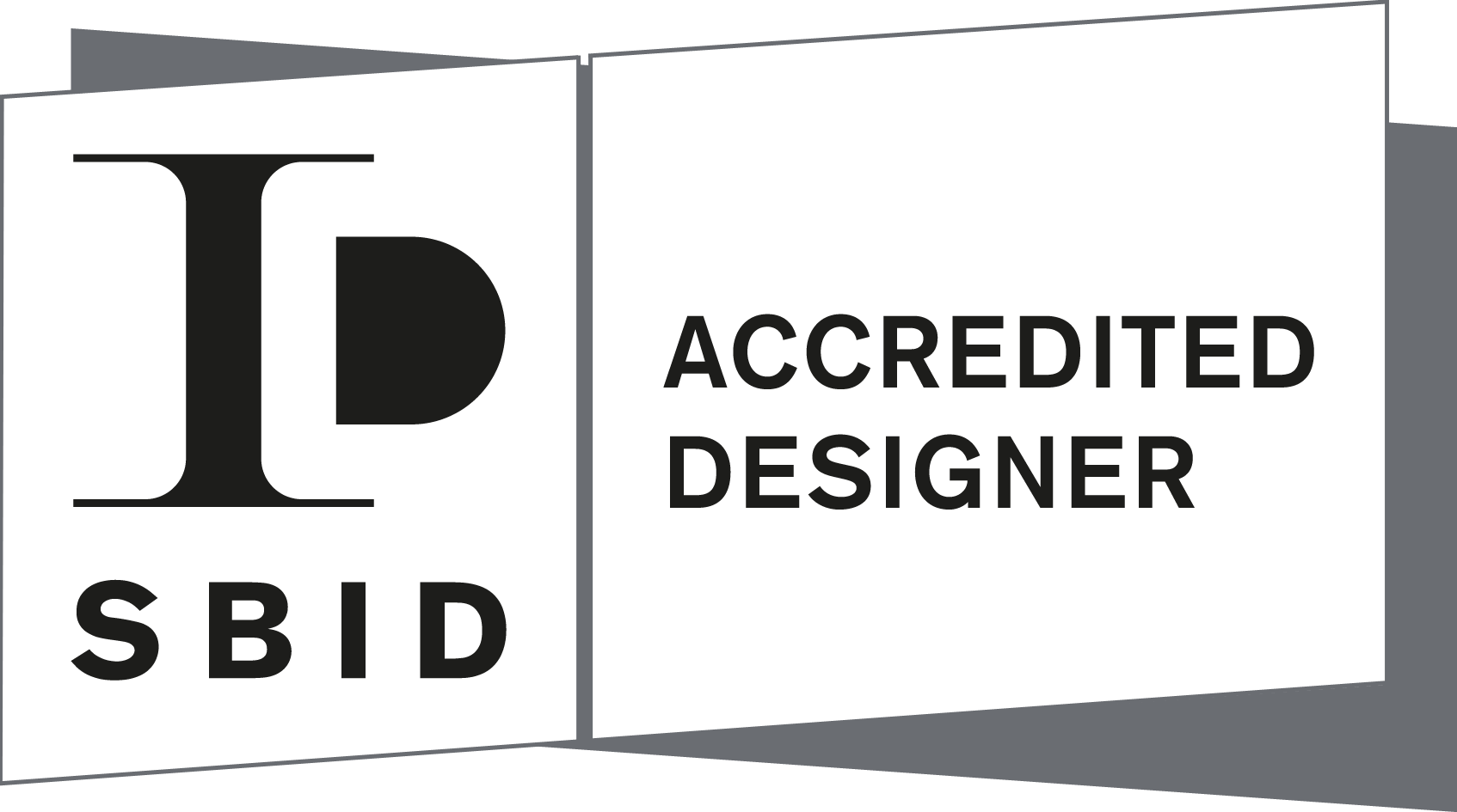 SBID Accredited Designer Logo Landscape_White+Grey